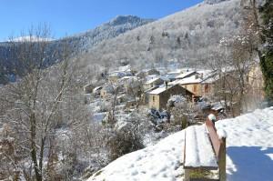 Lercoul sous la neige
